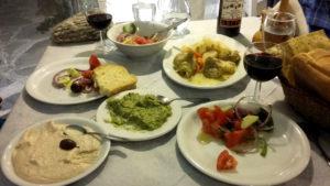 Une table méditerranéenne