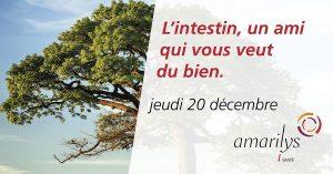 La Conférence amarylis du jeudi soir, le trimestre de l'immunité : l'intestin, un ami qui vous veut du bien @ Amarilys | Forel (Lavaux) | Vaud | Suisse