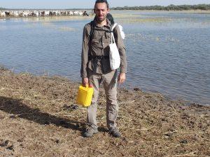 Sylvain Garraud pendant le projet de reconnaissance
